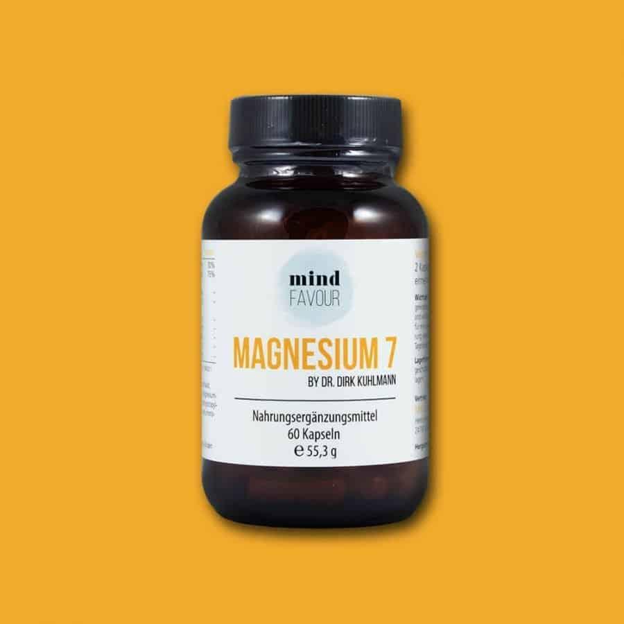 MIND FAVOUR Magnesium 7 als Nahrungsergänzungsmittel in Kapseln kaufen 25.06