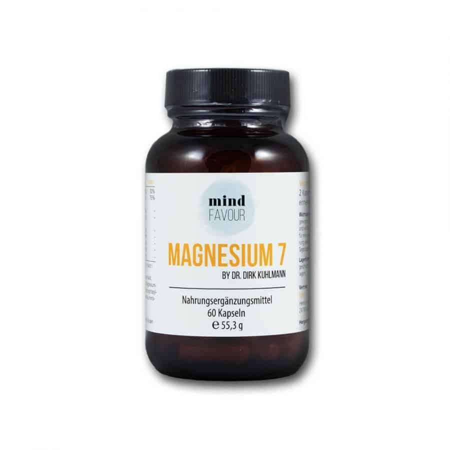 MIND FAVOUR Magnesium 7 als Nahrungsergänzungsmittel in Kapseln kaufen 25.06 weiß