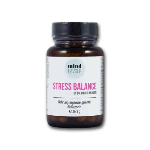 MIND FAVOUR Nahrungsergaenzungsmittel Stress Balance Kapseln kaufen antistress entspannen 2019