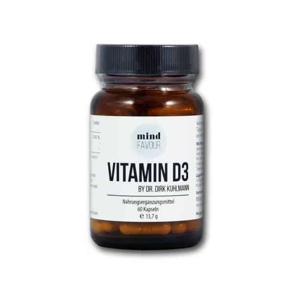 MIND FAVOUR Nahrungsergaenzungsmittel Vitamin D3 Kapseln kaufen Calcium 2019