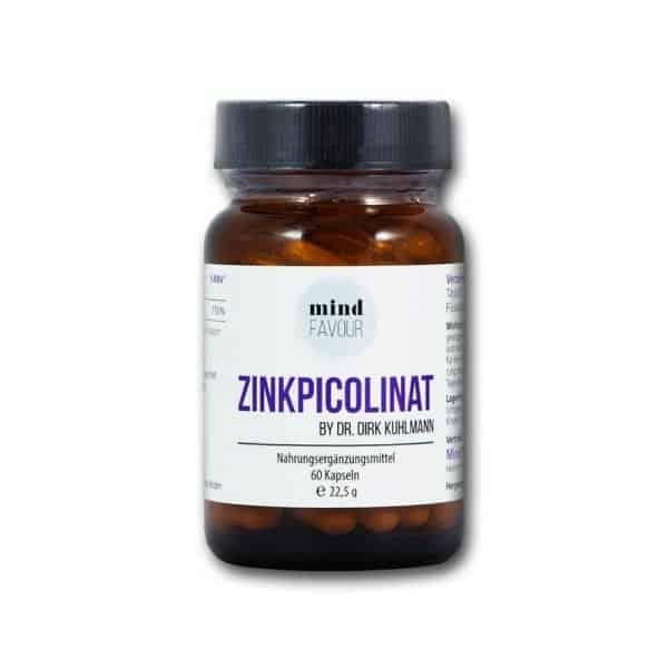 MIND FAVOUR Nahrungsergaenzungsmittel Zinkpicolinat Zink Kapseln kaufen 2019