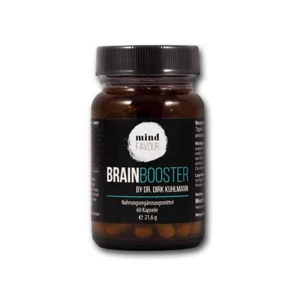 MIND FAVOUR Nahrungsergaenzungsmittel Brain Booster Gehirnleistung Konzentration Leistungsfähigkeit 2019