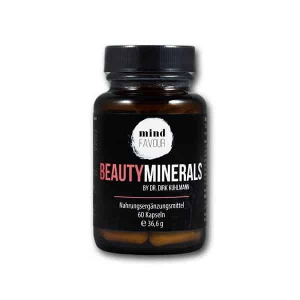 MIND FAVOUR Nahrungsergaenzungsmittel Beauty Minerals Kapseln kaufen natürliche Schönheit von innen 2019