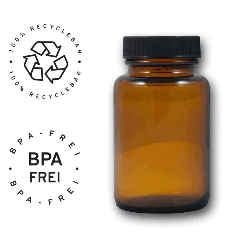 Braunglas recyclebar ohne BPA