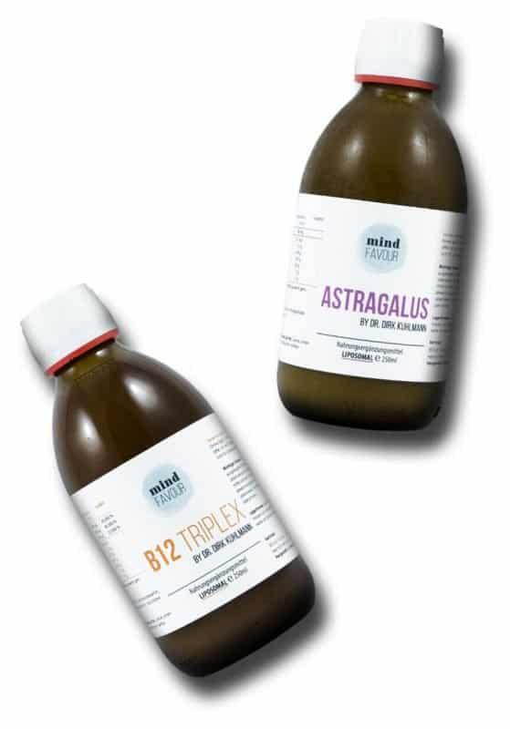 Neue Liposome vegan aktiver Zellschutz Vitamin B12 Astragalus